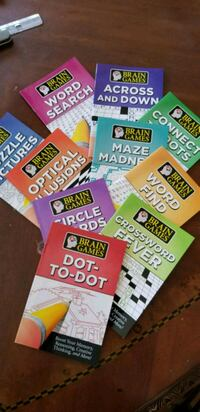 10 Brain games books Markham, L3P 1R1