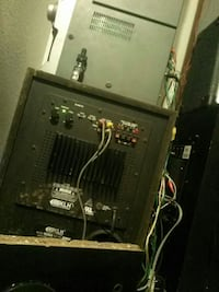 black and gray stereo amplifier Las Vegas, 89110