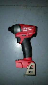 red and black Milwaukee cordless impact wrench Vancouver, 98682