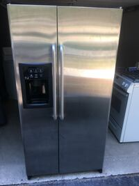 silver side-by-side refrigerator Mississauga, L5M 3Y3