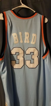 3XL stitched Larry Bird All Star jersey