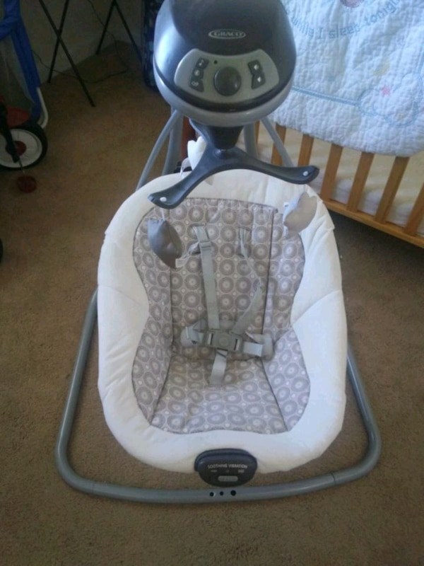 Graco swing with vibration