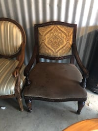 Over-wide Occasional chairs - solid wood