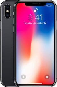 İphone X 64 gb space gray