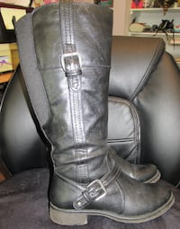 Ladies Knee High Boots Wide Calf New Westminster
