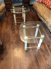Glass End Tables/ Coffee Tables Set of 2  West Babylon, 11704