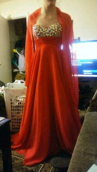 Red prom dress Kannapolis, 28081