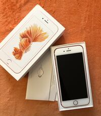 iPhone 6s 128 gb Rose Gold  7848 km