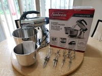 BEAND NEW SUNBEAM MIXER FOR SALE!! Mississauga, L4W 3S8