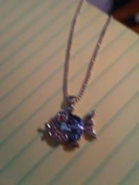 FAT BLUE FISH NECKLACE SILVER Jonesborough, 37659