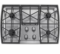 white 4-burner gas stove Mississauga, L4T 2P7