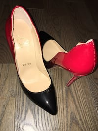 Ombre louboutins/ shoe cover never worn size39