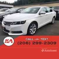 2016 Chevrolet Impala LT Port Orchard, 98366