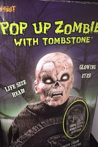 Pop up zombie with tombstone  Calgary, T2A 2H7