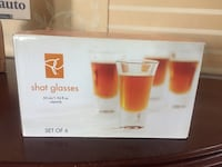 Shot glasses set of 6. Pick up in Richmond or West Broadway  Richmond, V7B 1W4