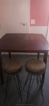 two brown wooden windsor chairs 332 mi