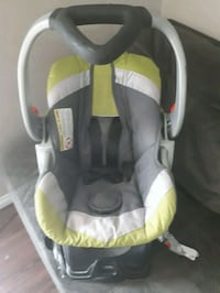 baby's gray and green car seat carrier Saskatoon, S7N 4G4