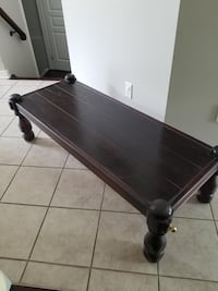 Rectangular brown wooden table 567 km