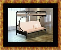 Twin futon bunk bed frame Hyattsville, 20781