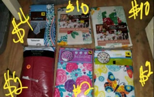 New table cloths see picture