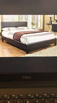 white and black mattress with text overlay Fairfax, 22032