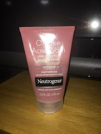 Neutrogena oil free grapefruit scrub Glen Allen