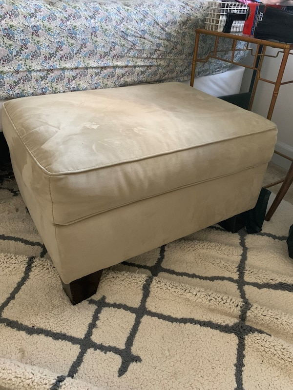 Microsuede Ottoman (Macy's)