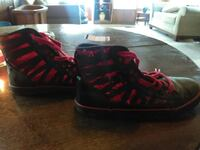 red and black high top sneakers Harpers Ferry, 25425