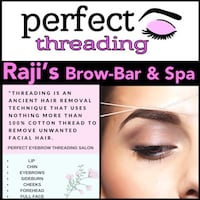 Beauty services THREADING SERVICES  Toronto