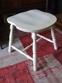 White solid stool and/or seat  Toronto, M4V 1X9