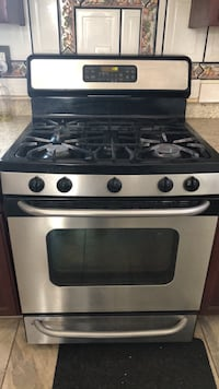 stainless steel and black gas range oven Riverside, 92503