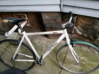 white and black road bike Wilkes-Barre, 18702