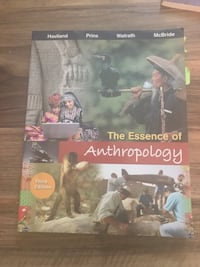 Anthropology College text book third edition - like new condition  503 km