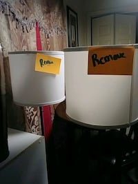 white and black table lamp Frankfort, 40601