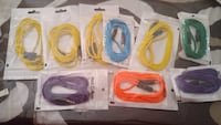 assorted-color audio cable lot Calgary, T3J 4A6