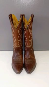 Nocona Brown Leather Women's Cowboy Boots size 10  Ocala