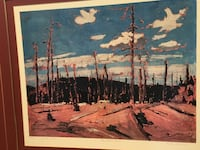 """Burnt Over Forrest""  by artist Tom Thomson 28 x 24 London, N6J 0B2"