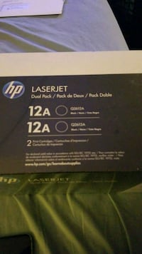 HP Laser Jet Printer Cartridges Arlington, 22204