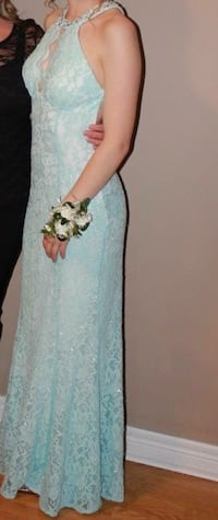 Blue lace prom dress Brampton, L6V 1E8