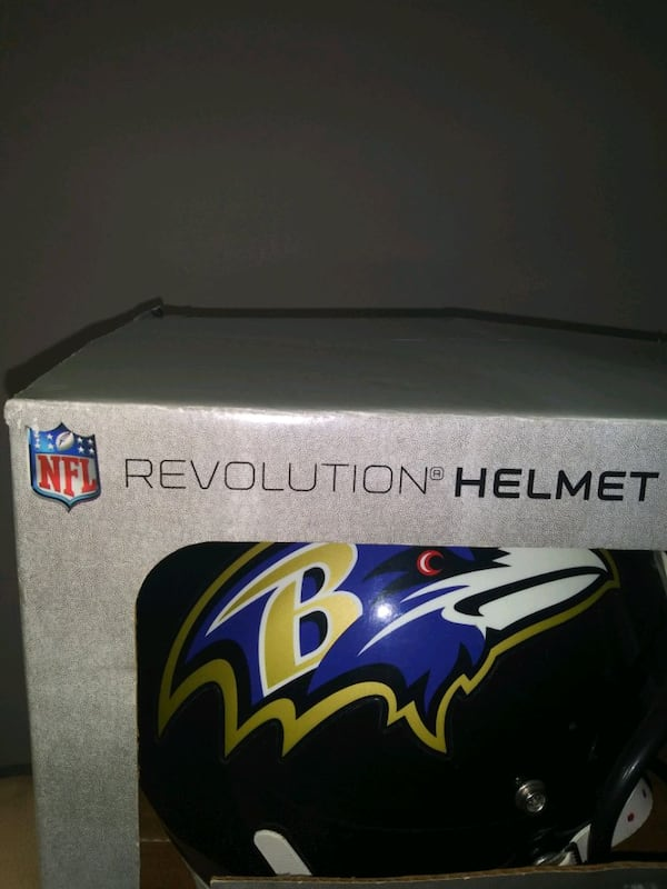 Ray Lewis Signed. Ravens Ridell hekmet. 2