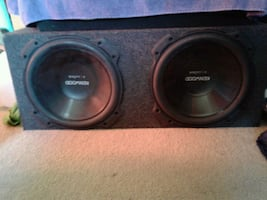 Kenwood excelon subwoofer with speakers Dean Gilmore for yours it's up