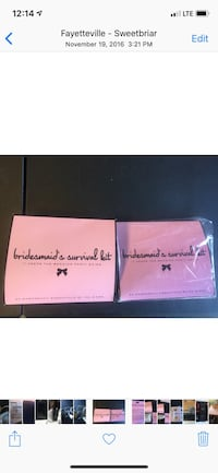 Bridesmaid's survival kits-NEW. Can be used as a travel kit Fayetteville, 72703