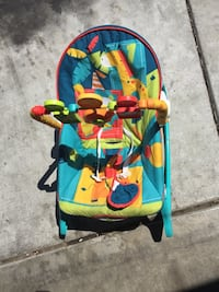 baby's blue and red bouncer Merced, 95341
