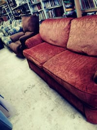 Red couch  Bethany, 73008