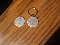Couples keychains. Asking 10.00 or best offer Middletown, 22645