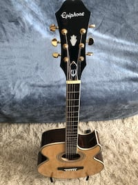 Epiphone Acoustic/ Electric 6 String Guitar with Gig Bag