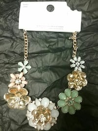 multi-color chunky necklace