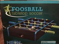 NEW foosball soccer tabletop neon  Brick, 08724