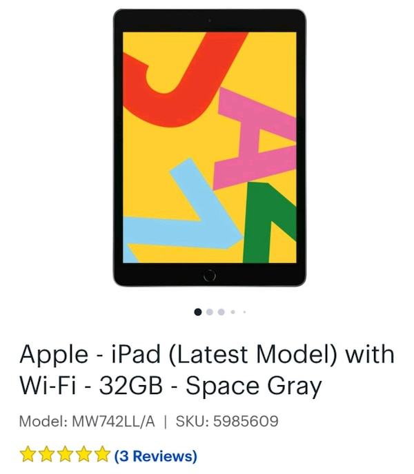 Used IPad Latest Model 32G New For Sale In New York
