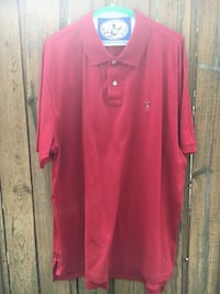 Red Polo Shirt XL South Bend, 46637
